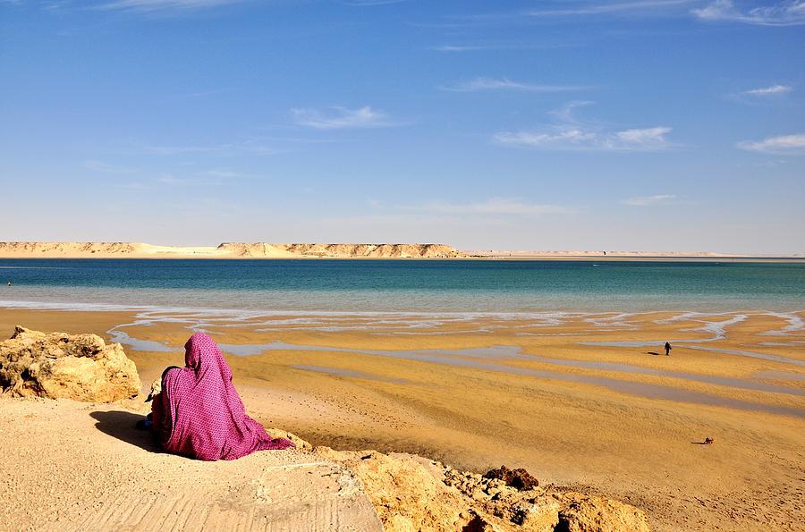 Woman Photograph - Woman Of The Desert by Manu G