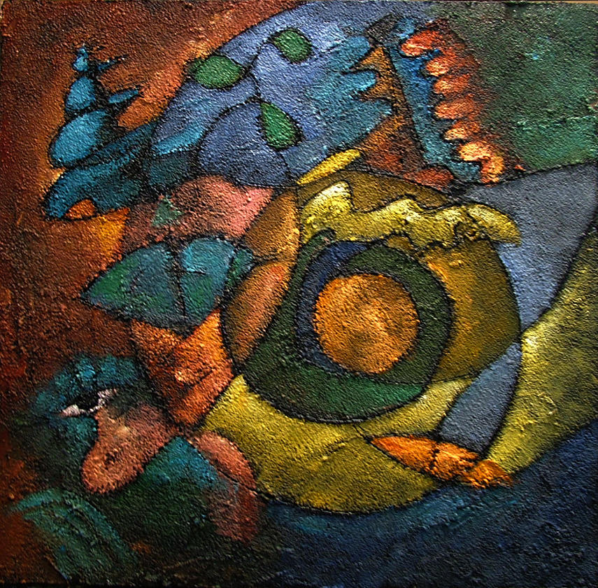 Woman Symbol Painting - Woman Waking by Ross Drago