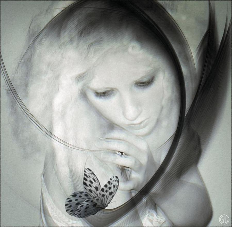 Woman Digital Art - Wonder by Gun Legler