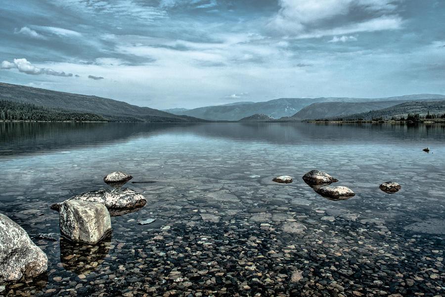 Wonder Lake Looking North Photograph