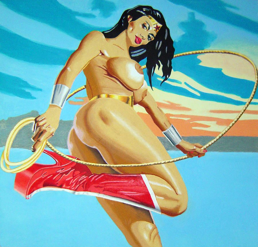Nude picture of wonder woman