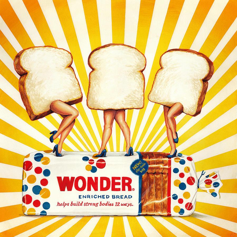 Wonder Painting - Wonder Women by Kelly Gilleran