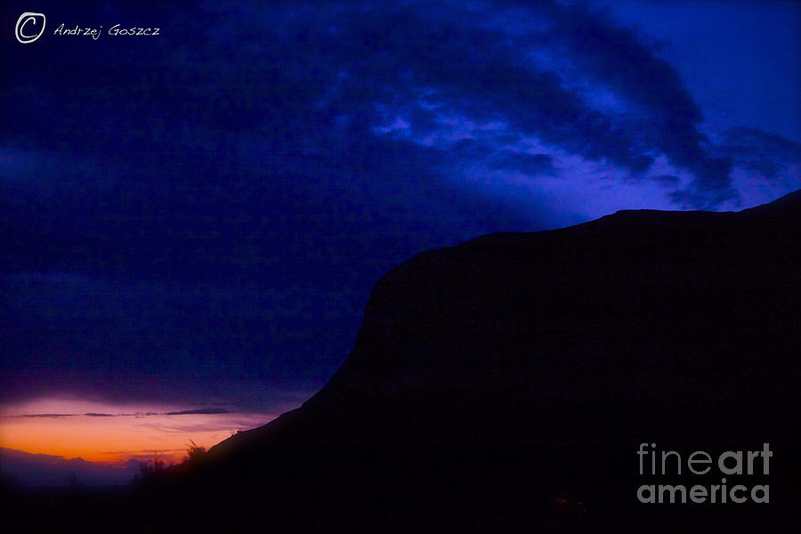 Landscape Photograph - Wonderful Night Fall - Norway . Free Europe. by  Andrzej Goszcz