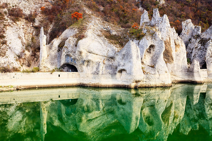 Lake Photograph - Wonderful Rocks by Evgeni Dinev