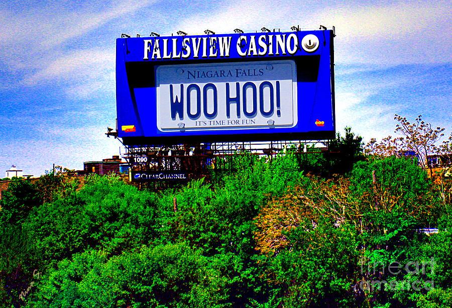 Casino Photograph - Woo Hoo by Nina Silver