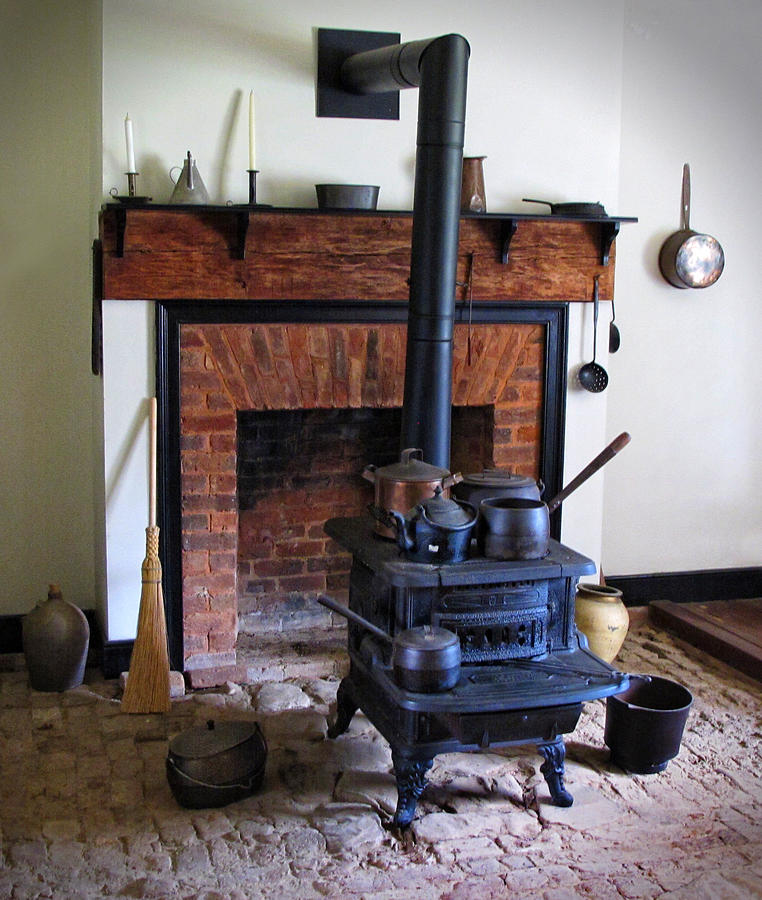 Wood Burning Stove Photograph - Wood Burning Stove by Dave Mills