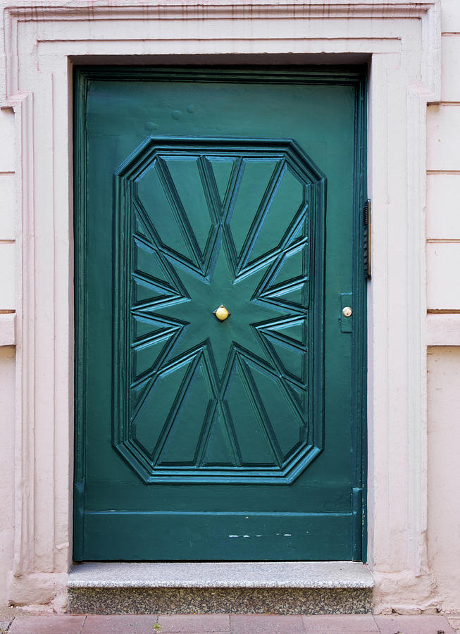 Wood Door. House Door Photograph by Ewastudio