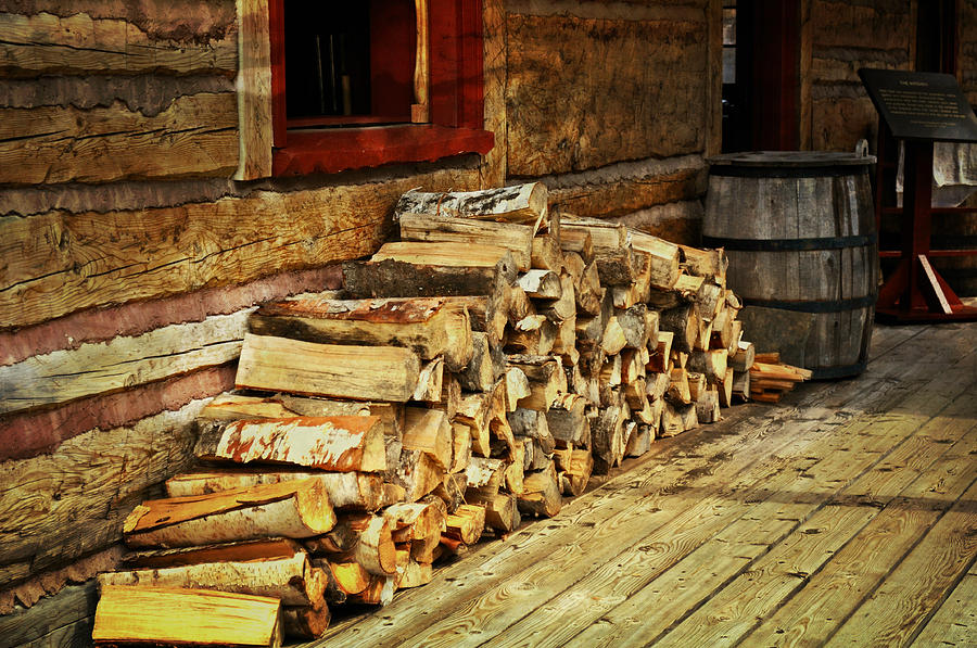 Rustic Photograph - Wood by Marty Koch
