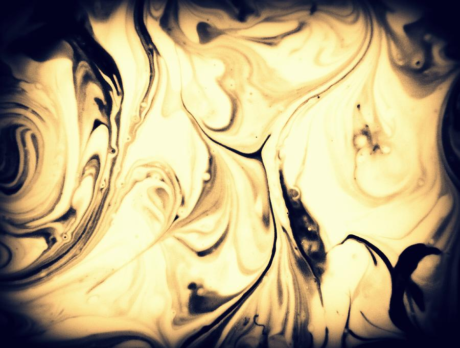 Abstract Photograph - Wood by Mlle Marquee