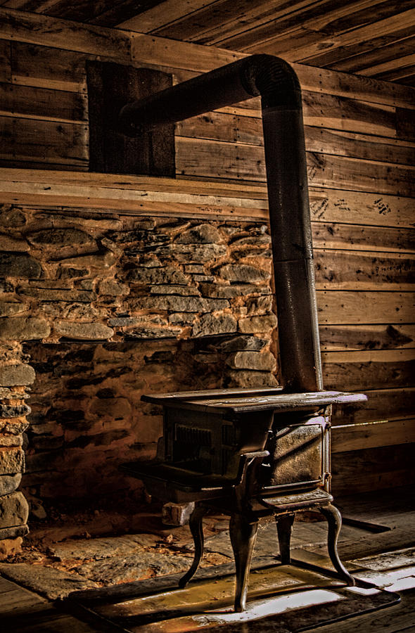 Wood Stove Photograph - Wood Stove by Dave Bosse