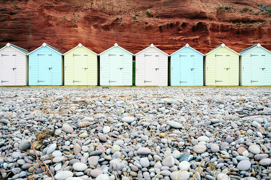 Wooden Beach Huts Photograph by Amesy
