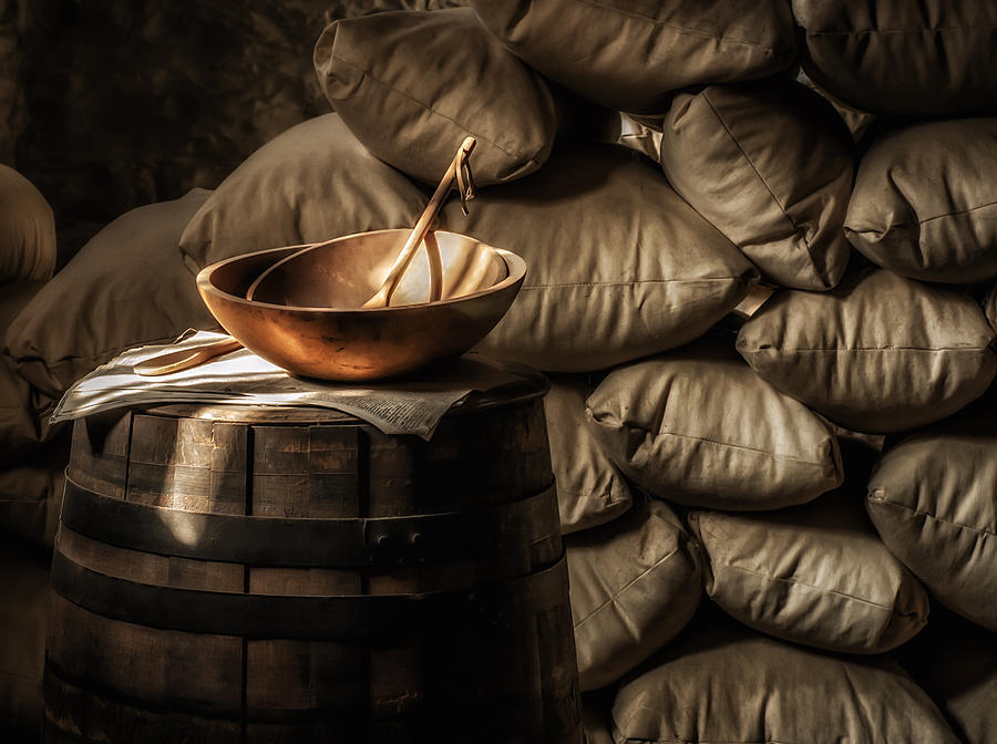 Bowl Photograph - Wooden Bowl by James Barber