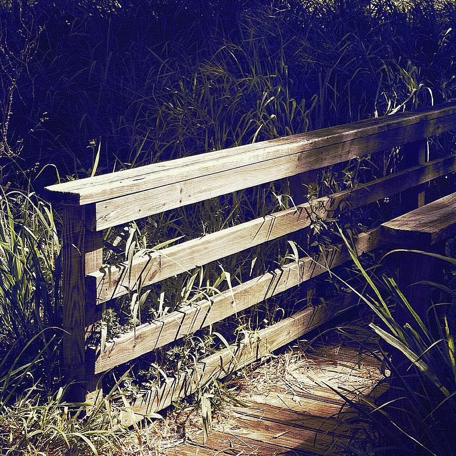 Bridge Photograph - Wooden Bridge by Beth Williams