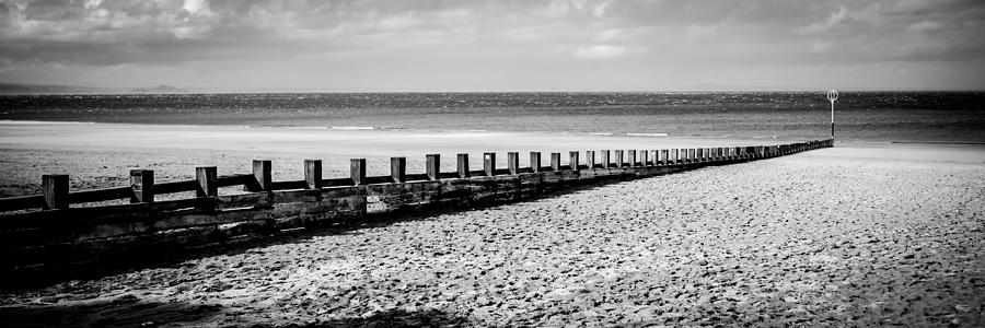 Wooden Groyne by Max Blinkhorn