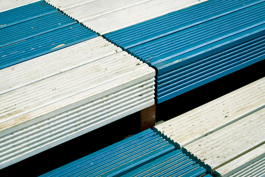 Achievement Photograph - Wooden Steps by Tom Gowanlock