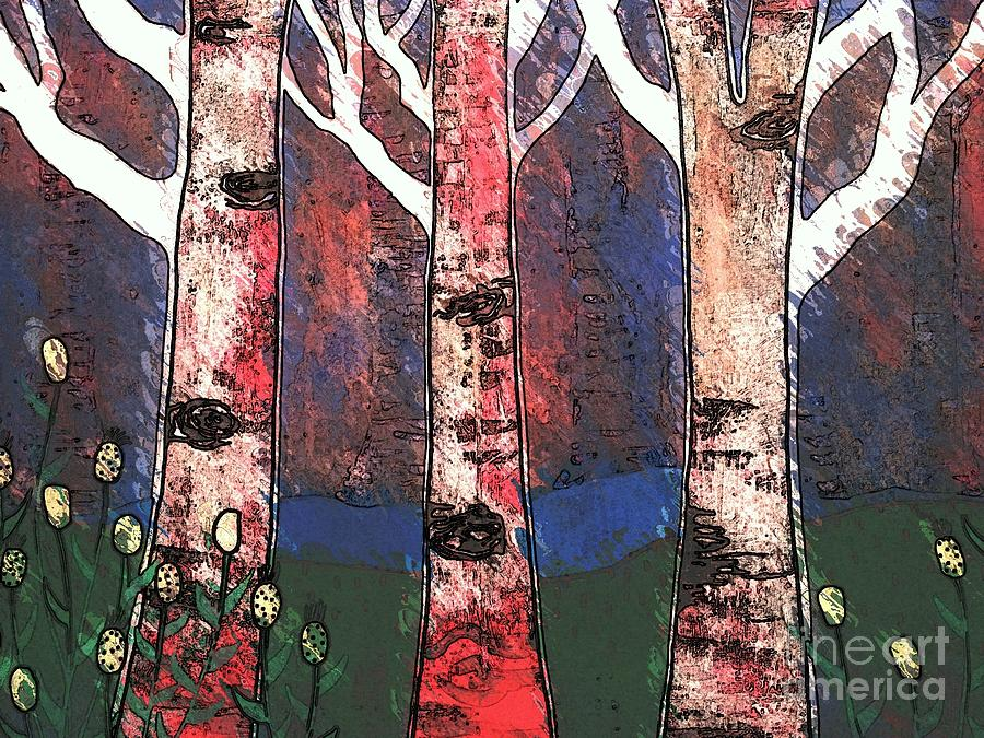 Woods Painting - Woodlin by Amy Sorrell