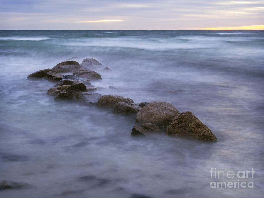woodneck beach 111113-01 by Gene  Marchand
