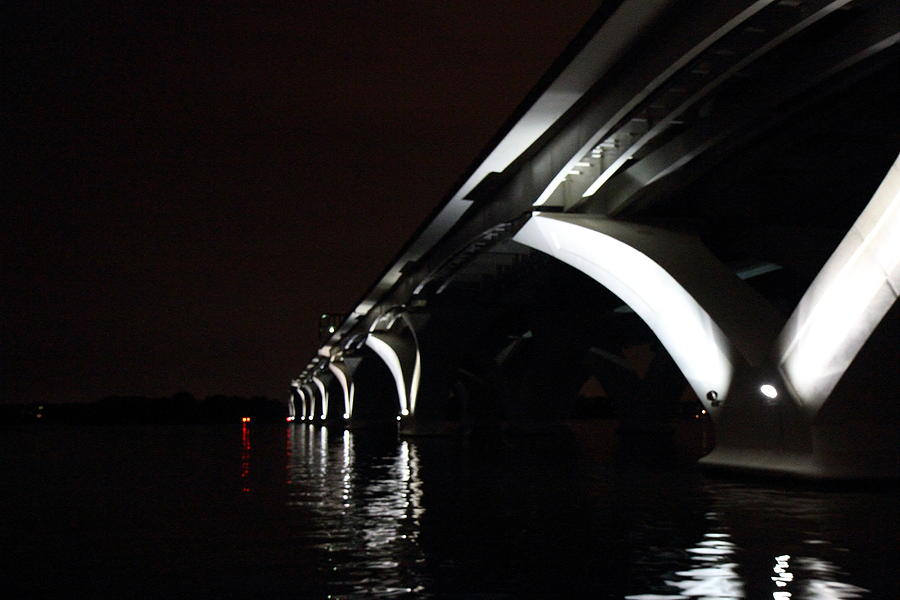 Washington Photograph - Woodrow Wilson Bridge - Washington Dc - 011319 by DC Photographer