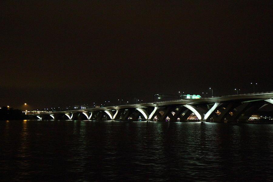 Washington Photograph - Woodrow Wilson Bridge - Washington Dc - 011339 by DC Photographer