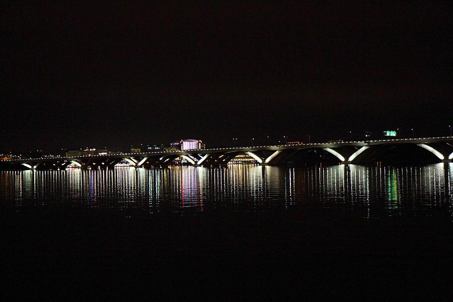 Washington Photograph - Woodrow Wilson Bridge - Washington Dc - 011344 by DC Photographer