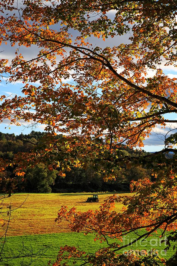 Vermont Photograph - Woodstock Vermont by Edward Fielding
