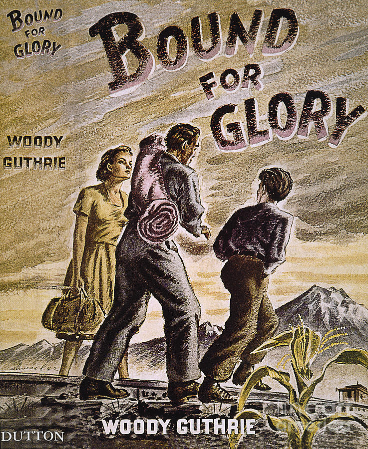 1st Photograph - Woody Guthrie: Glory, 1943 by Granger