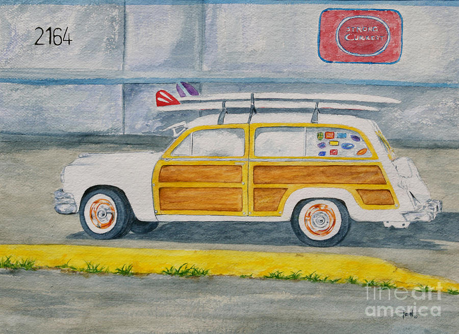Cars Painting - Woody by Regan J Smith