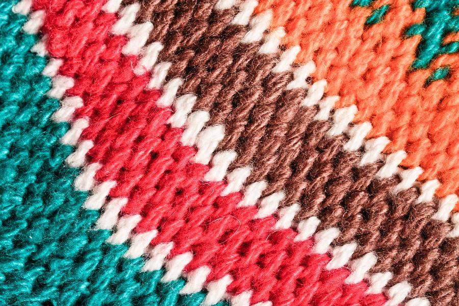 African Photograph - Wool Knitwear by Tom Gowanlock
