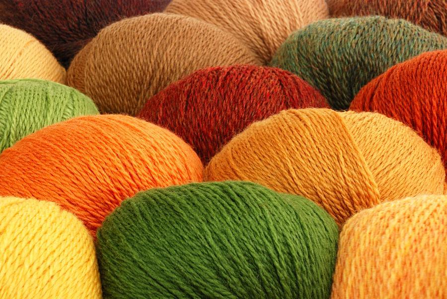 Yarn Photograph - Wool Yarn by Jim Hughes