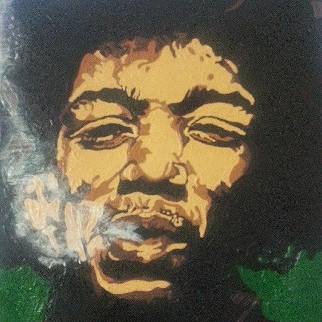 Jimi Hendrix Photograph - Jimi Hendrix by Rachel Natalie Rawlins
