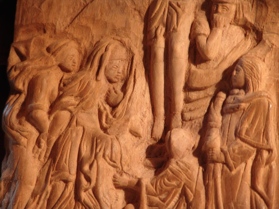 Work In Progress - On Calvary Relief by G Peter Richards