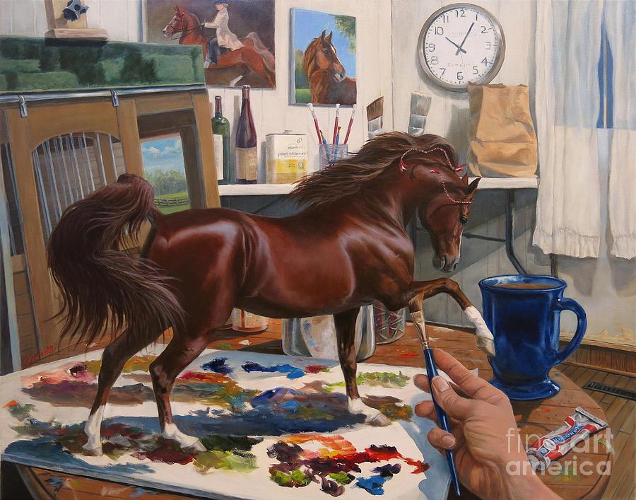 Work In Progress Six Painting