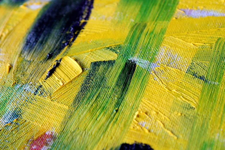 Paint Photograph - Work In Progress by Tom Atkins