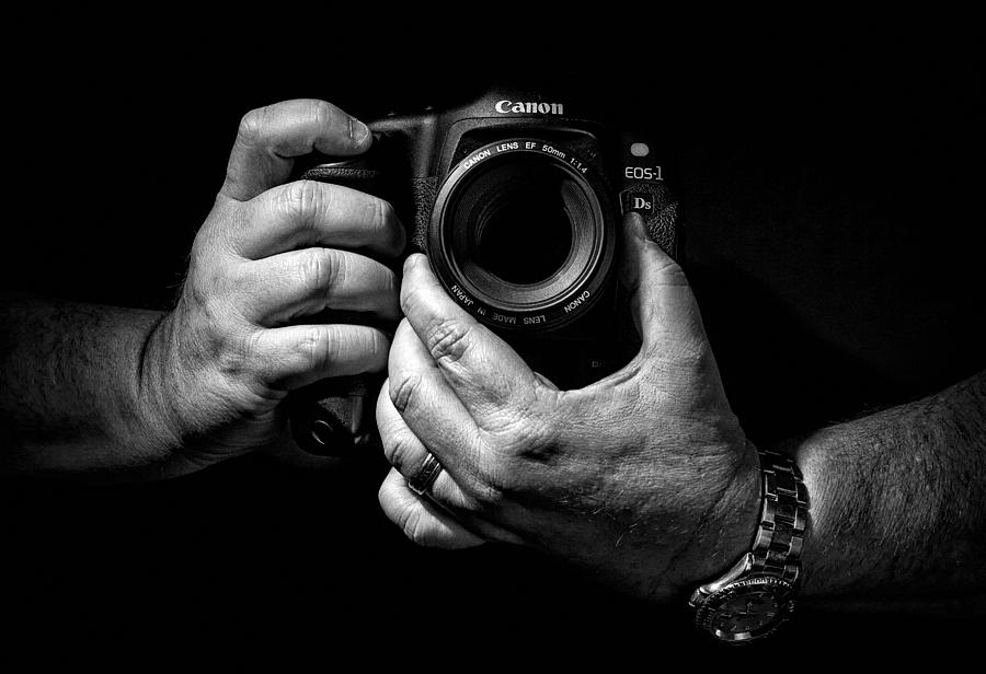 Aperture Photograph - Working Hands by Jeff Burton