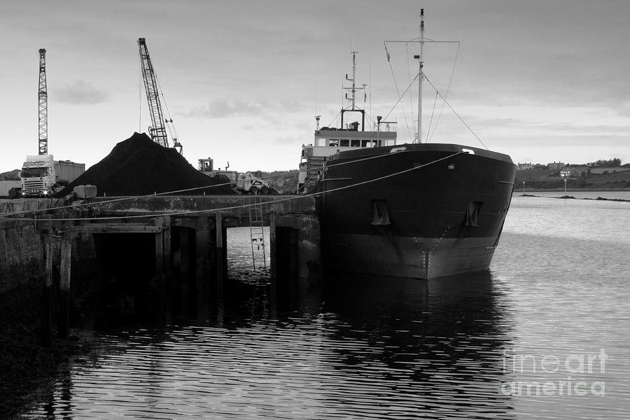 Quay Photograph - Working Harbour by Frank Anthony Lynott