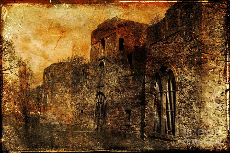 Castle Photograph - Workington Hall by Randi Grace Nilsberg
