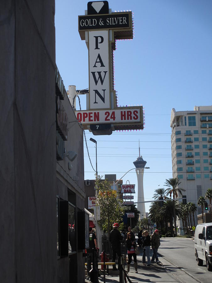 World Famous Gold And Silver Pawn Shop Photograph by Kay Novy