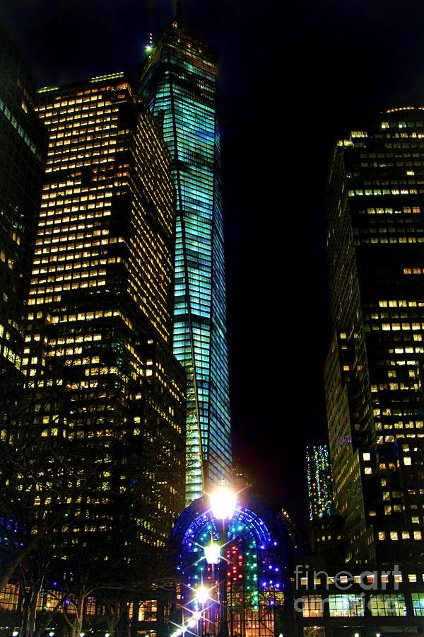 World Financial Center Photograph - World Financial Center by Mariola Bitner