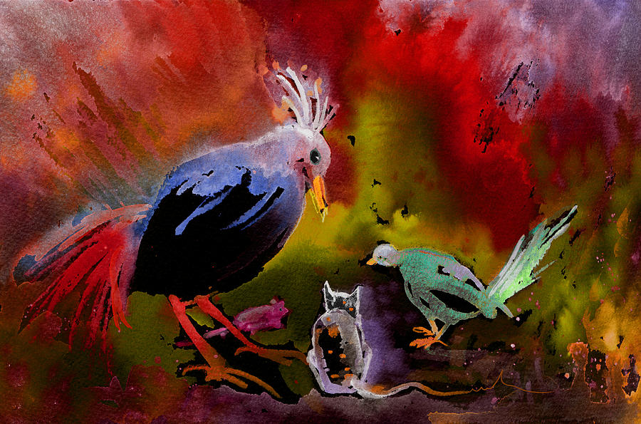 World Peace Conference Painting By Miki De Goodaboom