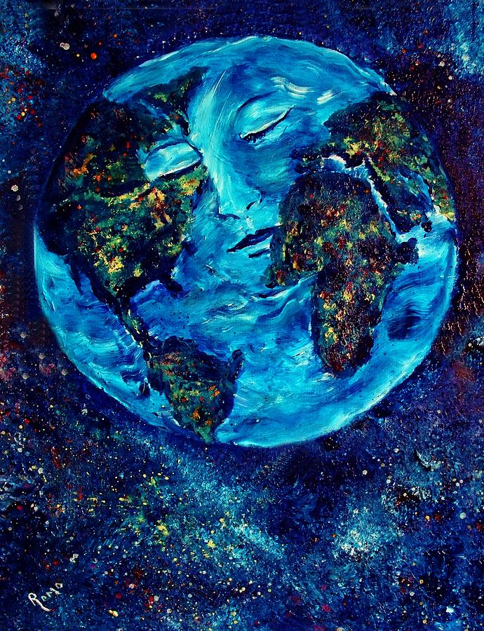 World Peace Painting By Robin Monroe