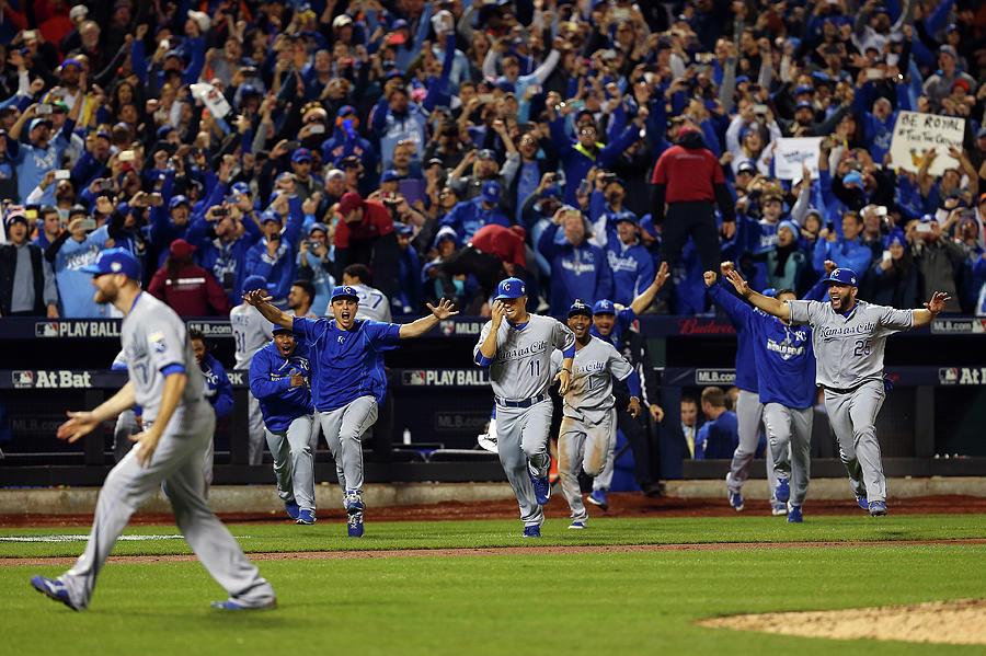 World Series - Kansas City Royals V New Photograph by Elsa