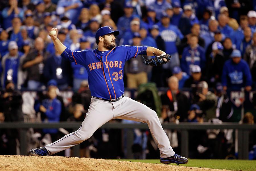 World Series - New York Mets V Kansas Photograph by Sean M. Haffey