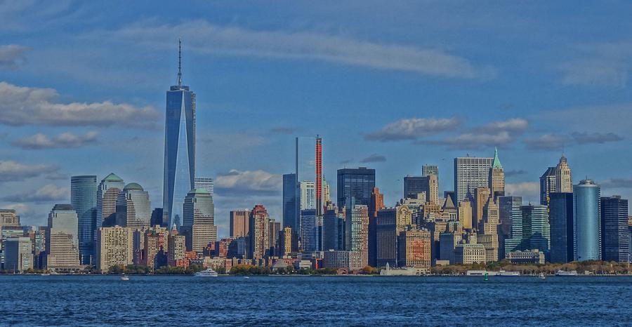 World Trade Center Painting Photograph - World Trade Center Painting by Dan Sproul
