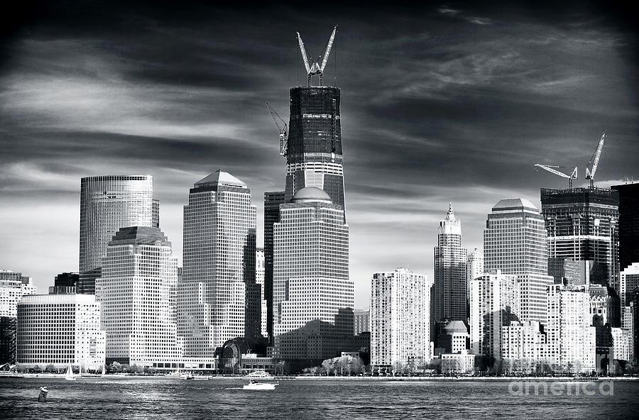 Wtc Photograph - World Trade Center Rebirth by John Rizzuto