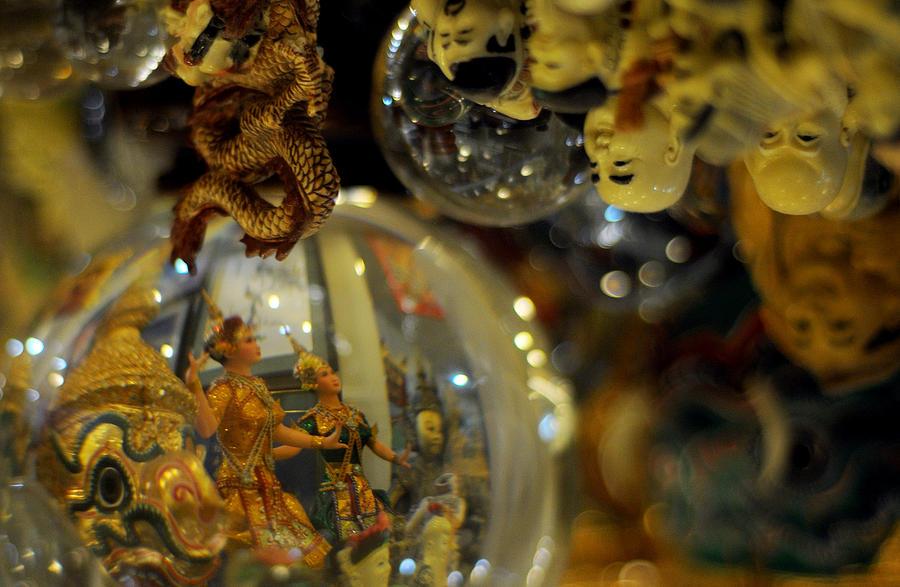 Reflection Photograph - World Upside Down by Money Sharma