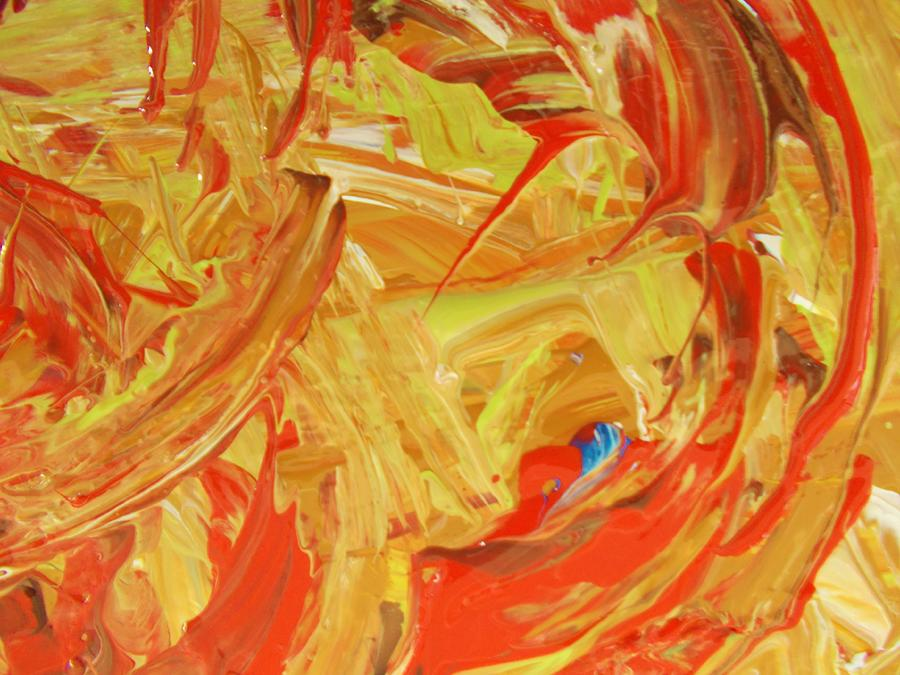 Original Painting - World Wide Abstract by Artist Ai