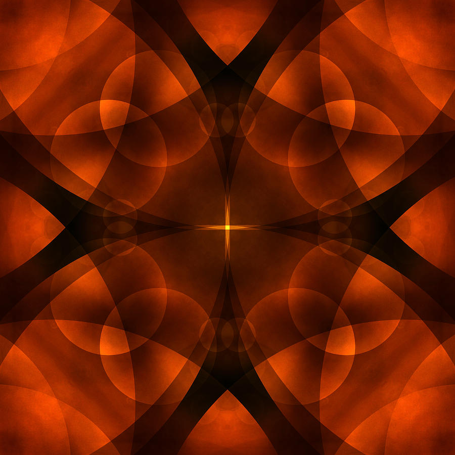 Abstract Photograph - Worlds Collide 16 by Mike McGlothlen