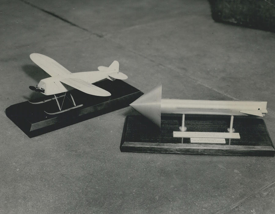 Retro Photograph - World�s First Guided Missile Control Gear Handed Over To by Retro Images Archive