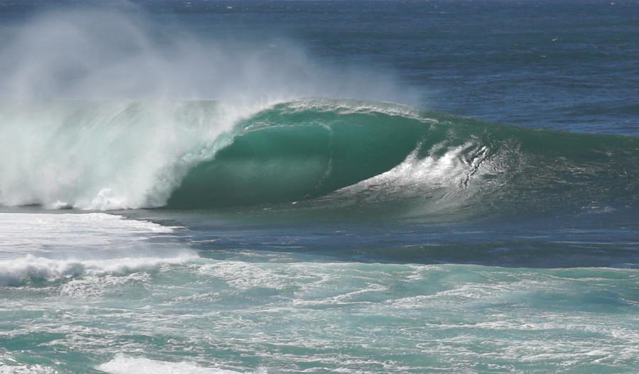 Pipeline Photograph - Worlds Most Perfect Wave . . . by Kevin Smith