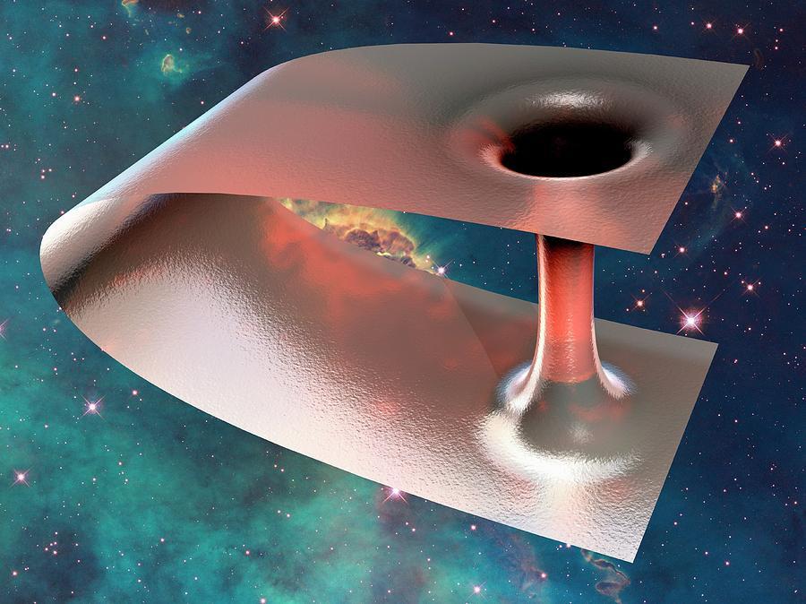 Wormhole, Conceptual Artwork Digital Art by Laguna Design